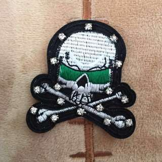 Cool Geeen Sunglasses Skull Patch