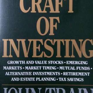 The Craft of Investing by John Train