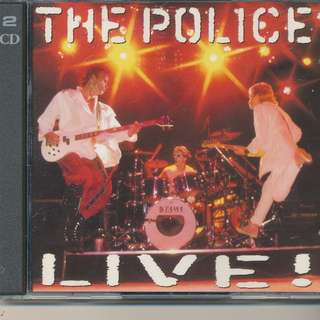 The Police Live ! (AUDIO CD) A&M 1995 London (2-CD) [ya]