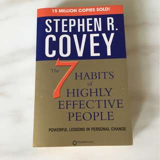7 habits of the highly effective people