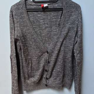 H&M Black and White Cardigan