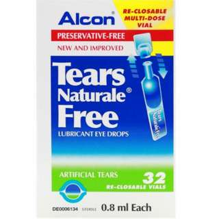 Brand new: Alcon Tears Naturale Free - Lubricant Eye Drops
