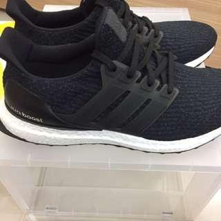 Adidas ultra boost 3.0 男黑 us10