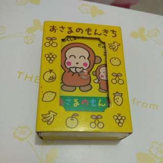 Sanrio 1993馬騮仔playing cards 啤牌