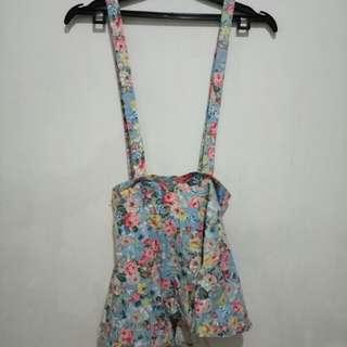 Rok Suspender Floral