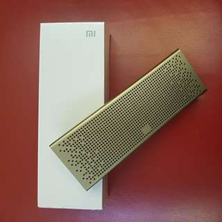 Mi Bluetooth Speaker - Golden (Brand New Sealed in Box)