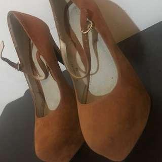 Brown Pumps (Fabiana)