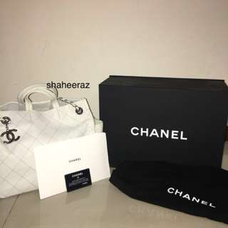 White Chanel Handbag