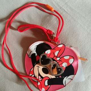 Minnie Mouse Sling Pouch