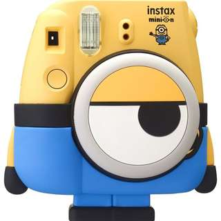 FujiFilm Minion Instax Mini 8 Camera Minion Theme (Buy 1 Free 5)