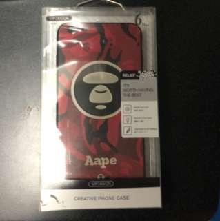 I phone 6/6s plus 猿人保護套
