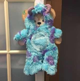 Disney Duffy 怪獸公司 monster 毛毛 衫 43cm