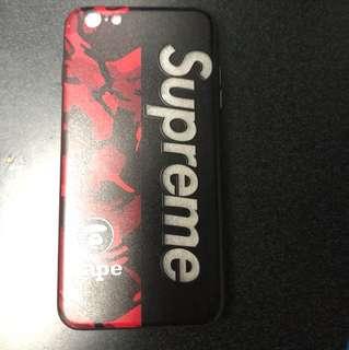 I phone 6/6s plus 猿人 X supreme 保護套