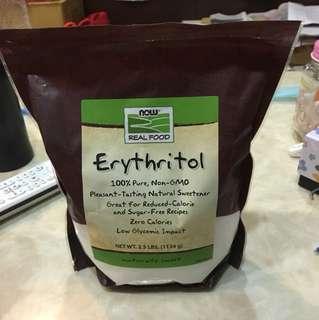 Now foods 天然甜味劑赤藻醣醇 代醣 美國