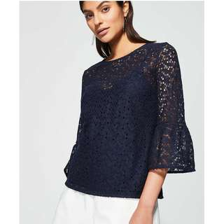Witchery Lace Top Brand New with tag RRP$99.95