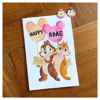Chapter 2 [Disney Series] #3 Chip n Dale
