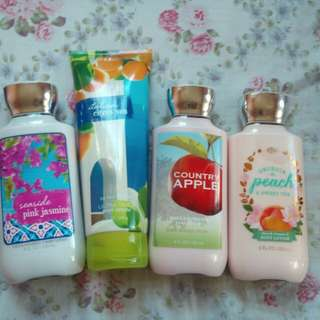 Bath & Body Lotions