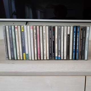 CD collection, classical music