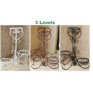 Metal Plant Stand - 3/4 levels