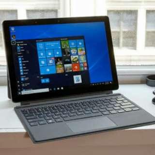 kredit laptop dell latitude 5285 core i5 ram 8gb SSD win pro 10 + keyboard logitech k380