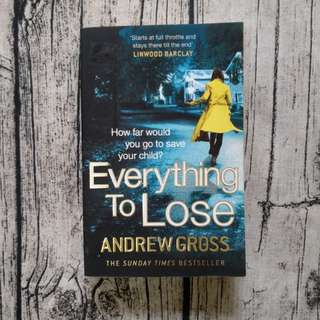 USED BOOK: Everything to Lose