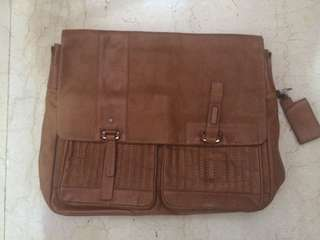 European Leather Satchel Bag