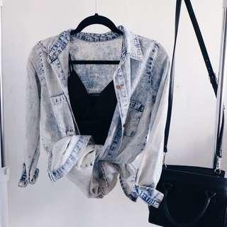 Acid jeans shirt