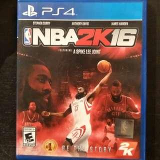 PS4 NBA 2K16 (NBA2K16)