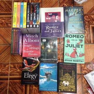 Onhand brandnew books