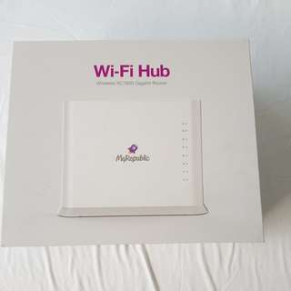BNIB myrepublic ac 1600 wireless router