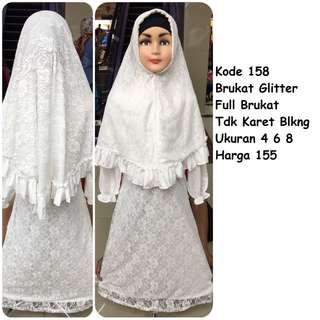 Gamis putih #158