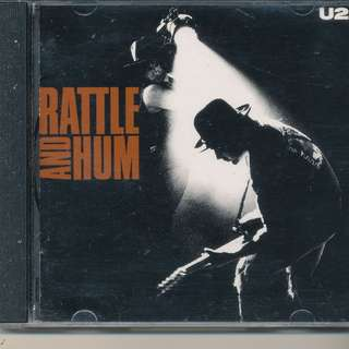 U2 - Rattle & Hum (AUDIO CD) Island 1988 (MADE IN FRANCE) [x6]