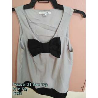 Forever 21 Bow Top