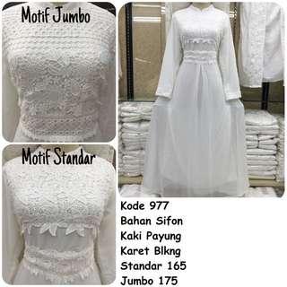 Gamis putih #977