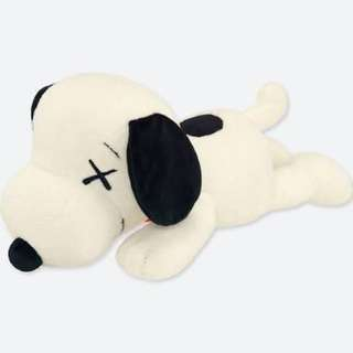 UNIQLO KAWS X PEANUTS PLUSH WHITE [SMALL]