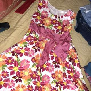 Summer Flowery Dress