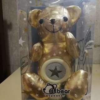 熊仔形狀 揚聲器 Bear Speaker