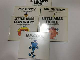 Little Miss/Mr children books