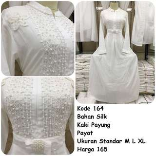 Gamis putih #164
