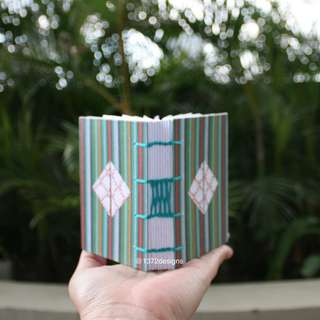 Mini Vertical Stripe Journal