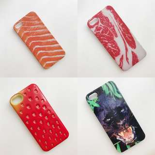 iPhone 5/5s Case (Salmon/Beef/Strawberry/Jaguar)