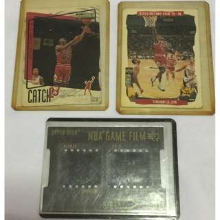 NBA Cards - Chicago Bulls/ Alonzo Mourning Film