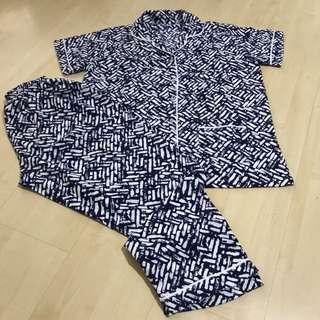 Piyama Motif Bata [ Harga Grosir ] set celana panjang