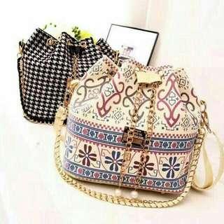 Korean Bucket Sling Bag