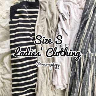 Grab Bags: Size S Ladies' Clothing