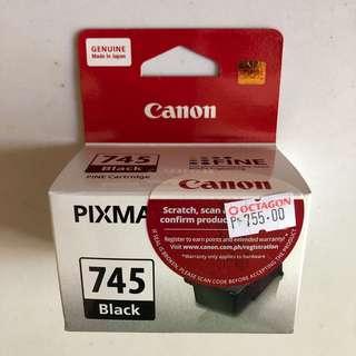 Canon Pixma 745 Black Ink Cartridge - BRAND NEW - 50% off - 2pcs