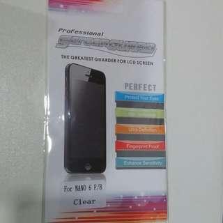Apple IPod Nano screen protector