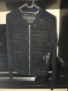 Stradivarius lace jacket
