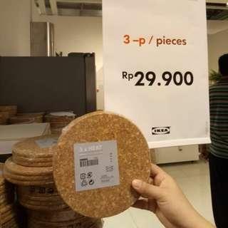 Jastip Beli IKEA - Alas Panci Isi 3 Pcs