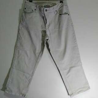 Levi's Cropped Capri Pants
